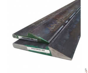 Weld-On Cutting Edge Bucket Wear Strip Heat-Treated Half Arrow Profile