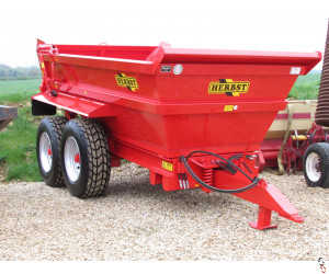HERBST Dump Trailer 12 tonne, New - In Stock