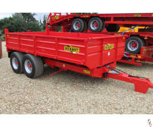HERBST Dropside 10 Tonne Tipper Trailer - New - Waiting For More Stock