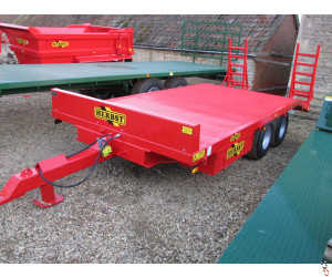 HERBST Lowloader 18ft BeaverTail Plant Trailer, 7.8 tonne carry, New