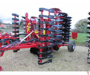 PROFORGE INVERTA 4.5 metre Short-Disc, Speed-Disc Harrow Cultivator, NEW,
