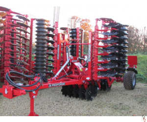 PROFORGE INVERTA 5.0 metre Short-Disc, Speed-Disc Harrow Cultivator, NEW,