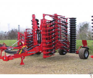 PROFORGE INVERTAMAX 5 metre Heavy Short-Disc, Speed-Disc Harrow Cultivator, New,