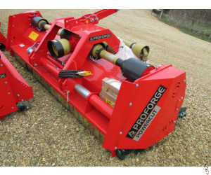 PROFORGE FORESTER Perugini Double Drive Mega Heavy Duty Flail