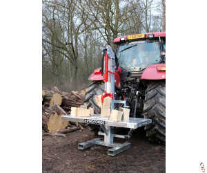 PROFORGE 20 Tonne Hydraulic Tractor Mounted Log Splitter & Table Combination