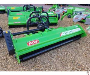 NEW TALEX LEOPARD DUO 250 Flail Mower - 2.5 metre - Hyd side shift - Rear Roller - In Stock!