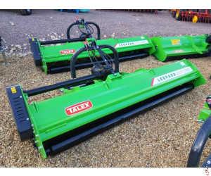 NEW TALEX LEOPARD DUO 280 Flail Mower - 2.8 metre - Hyd side shift - Rear Roller - In Stock!