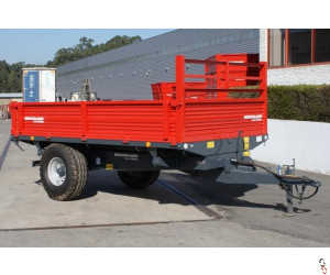 HERCULANO 3.0 tonne 3-Way-Tip Dropside Trailer, NEW