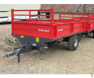 HERCULANO 5 tonne 3-Way-Tip Dropside Trailer, NEW - In Stock