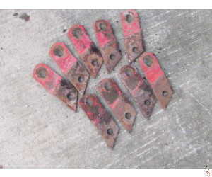 Kverneland Mouldboard Connecting Piece OEM: KK073266