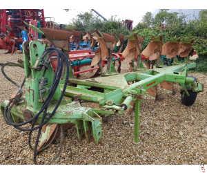 DOWDESWELL MA120 Plough, 6 furrow (5+1) DD bodies,