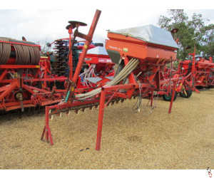 ACCORD DA-S 4 metre Airseeder, Power Harrow Mounting