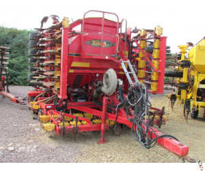 VADERSTAD RAPID 600F 6 metre system disc seed drill