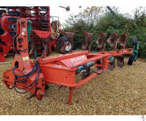 KVERNELAND LO85/300 Plough, 6 furrow, On Land/In Furrow, Hyd Variwidth
