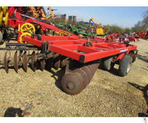 QUIVOGNE APX-TL 3.6 metre X Pattern Disc Harrow