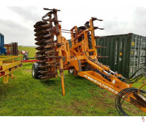 SIMBA CULTIPRESS 5.5 metre, DD Rings, leading tines, hyd levellers