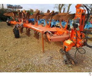 KUHN VARIMASTER 180 Plough, 6 furrow (5+1) Auto-Reset, Hyd variwidth