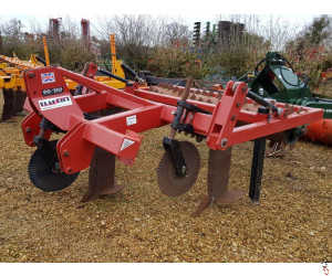 SPALDING 90/150 Flatlift Subsoiler, 3 leg with Front Discs, Tooth Packer