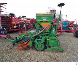 AMAZONE 3 metre Combination Seed Drill, 2010, Disc Coulter, 1186 hectares