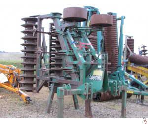 COUSINS V FORM 4.5 metre 7 Leg Subsoiler, Hyd folding
