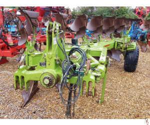 DOWDESWELL MA145 Plough, 6 furrow, On Land-In Furrow, 2012