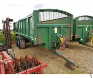 BAILEY 15 Tonne Root/Grain Trailer, 2005, Air & Oil Brakes,
