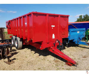 TRIFFIT 14 tonne Grain Trailer, Hyd Door, Sprung Drawbar, 2004