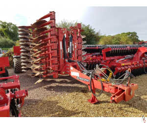 PROFORGE INVERTAMAX 4 metre Heavy Duty Short Disc Cultivator