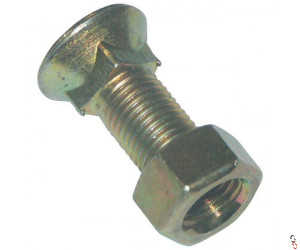 Round Head Square Neck Countersunk Fixing Bolt, Range of Sizes