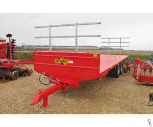 HERBST 12T Bale Trailers - New