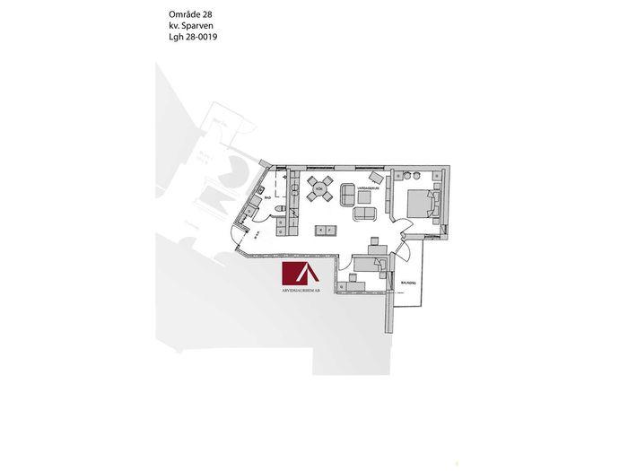 Lägenhet på Östra Skolgatan 15B i Arvidsjaur