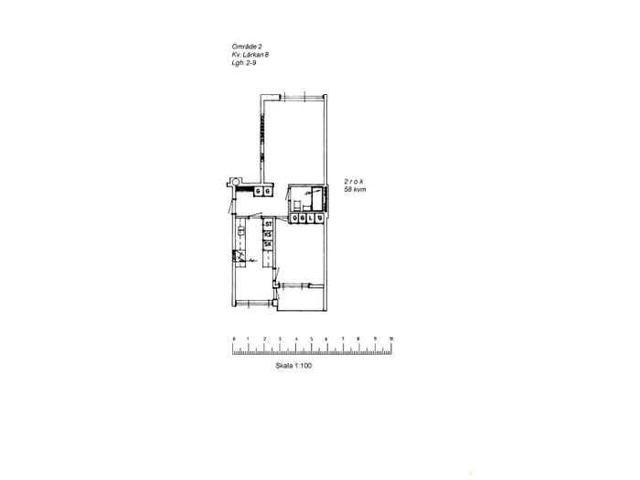 Lägenhet på Borgargatan 13A i Arvidsjaur