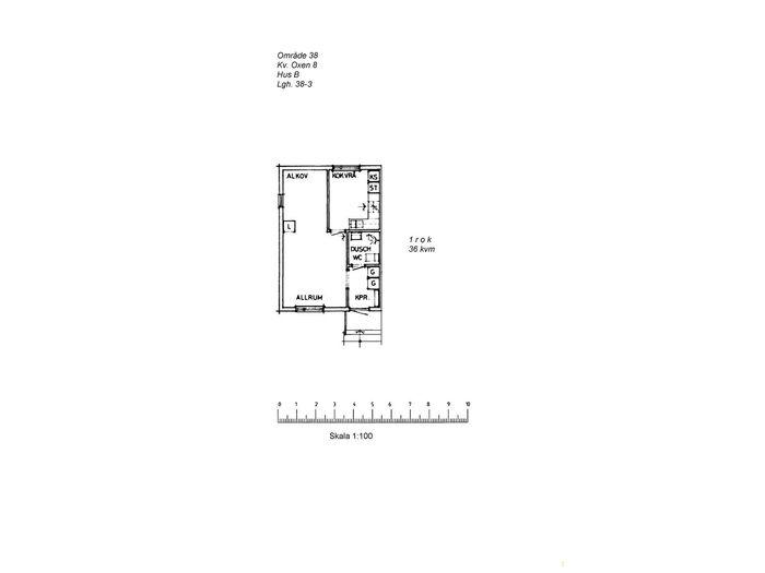 Lägenhet på Villavägen 39C i Arvidsjaur