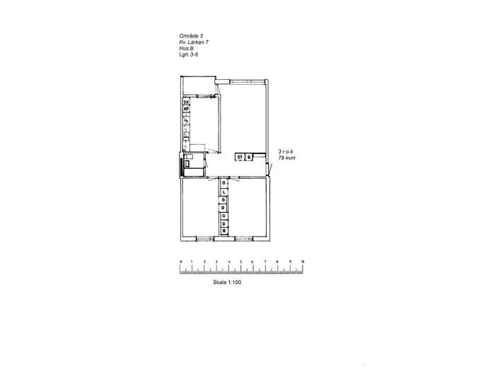 Lägenhet på Lärkstigen 1A i Arvidsjaur