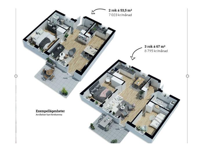Lägenhet på Sockenvägen 101 i Alvesta