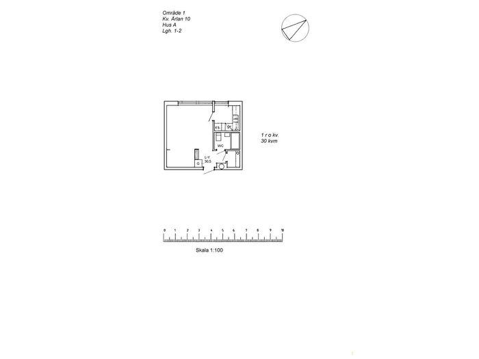 Lägenhet på Borgargatan 11A i Arvidsjaur