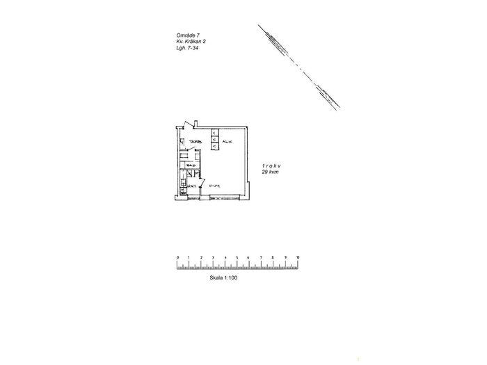 Lägenhet på Domängatan 17C i Arvidsjaur