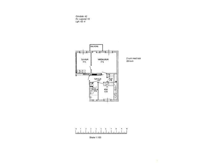 Lägenhet på Skomakaregatan 53A i Arvidsjaur