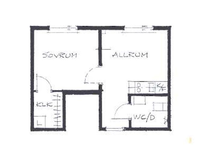 Lägenhet på Vintergatan 4A i Bjuv