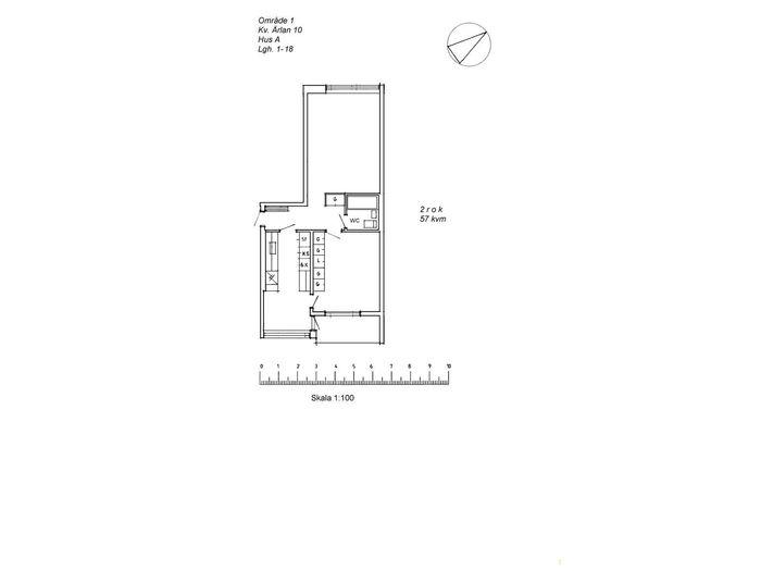 Lägenhet på Borgargatan 11B i Arvidsjaur