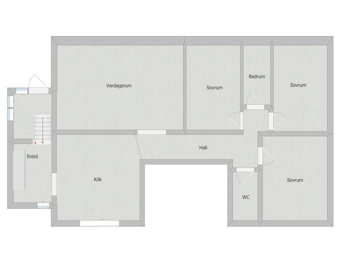 Lägenhet på Vallgatan i Älmhult