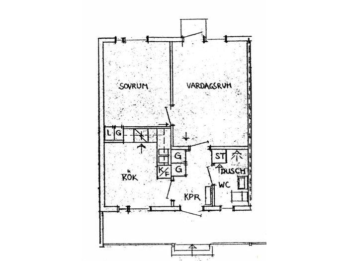 Lägenhet på Parkgatan 4C i Arvidsjaur