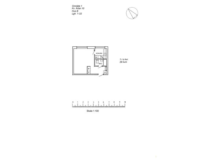 Lägenhet på Ringelvägen 36A i Arvidsjaur