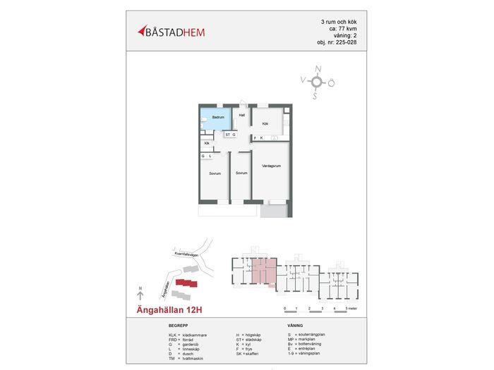 Lägenhet på Ängahällan 12H i Båstad