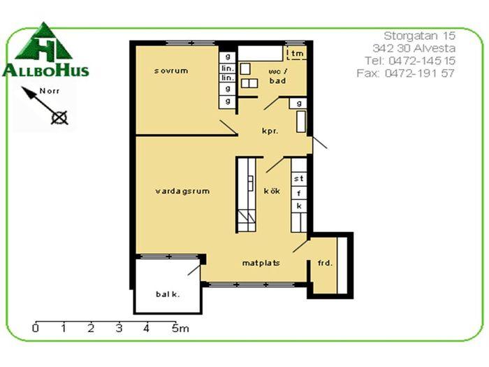 Lägenhet på Storgatan 13 i Alvesta