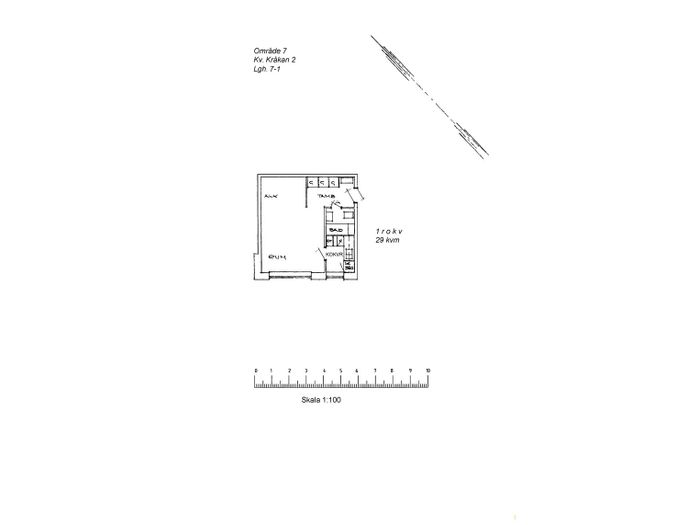 Lägenhet på Domängatan 17A i Arvidsjaur