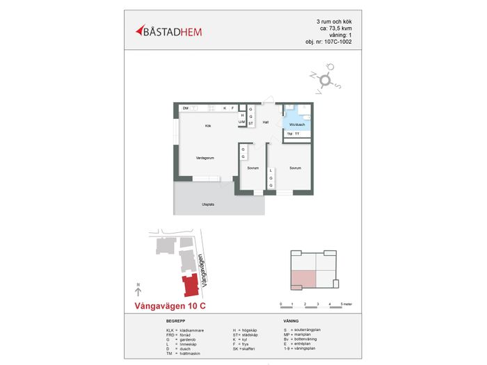 Lägenhet på Vångavägen 10 i Båstad