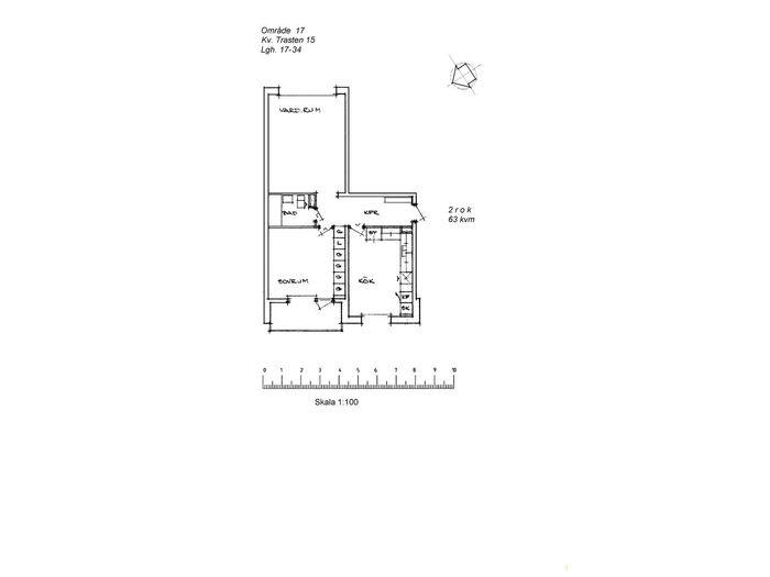 Lägenhet på Västlundavägen 29B i Arvidsjaur