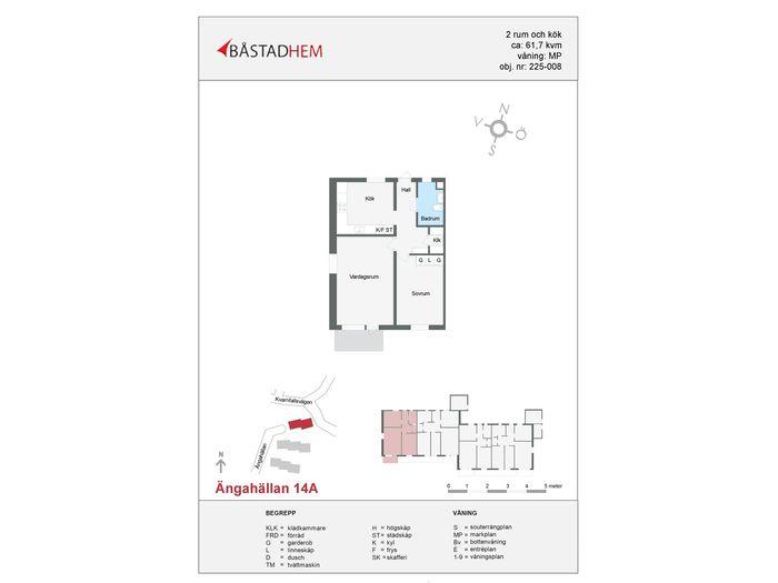 Lägenhet på Ängahällan 14A i Båstad