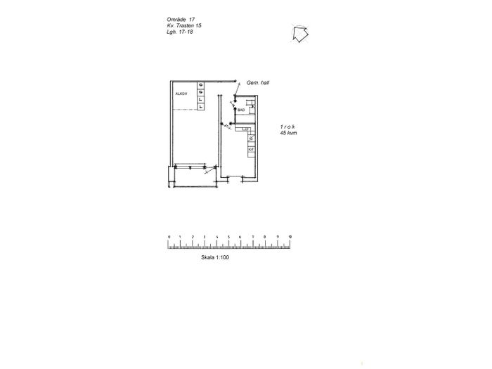 Lägenhet på Västlundavägen 31B i Arvidsjaur